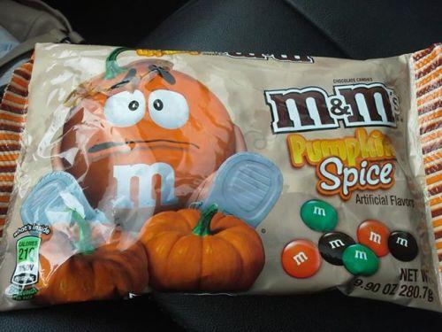 Pumpkin Spice M&Ms #fitkist