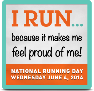 Running Day Badge