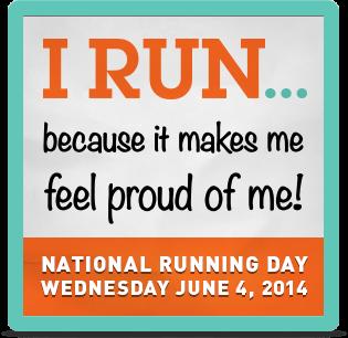 Running Day Badge